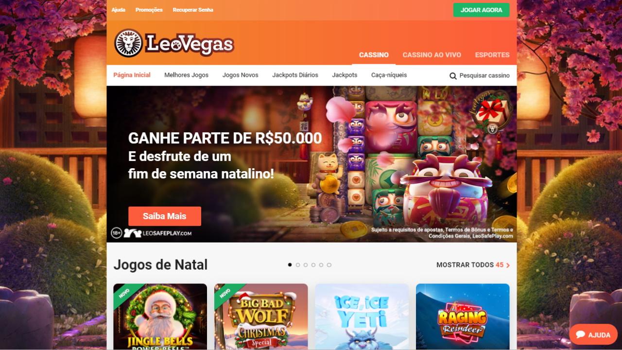 LeoVegas Home