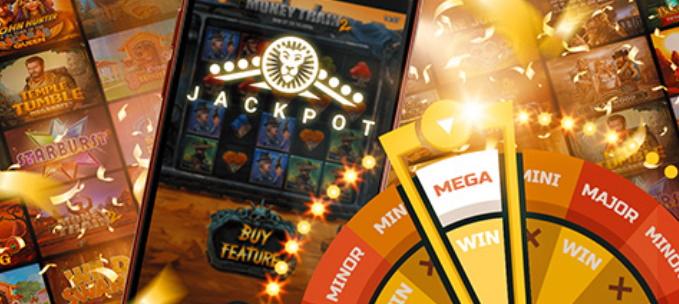 Bônus Jackpot Leo Vegas