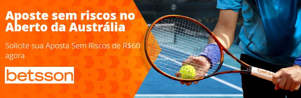 Promoção da Betsson para o Australian Open