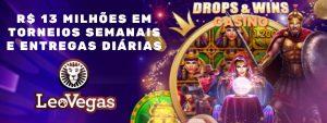 LeoVegas_DropsWinsCasino